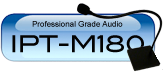IPT-M180 Wide Base Table Microphone